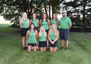 2017 Girls Varsity Golf team photo