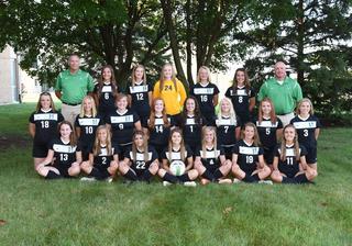2017 Girls Varsity Soccer team photo