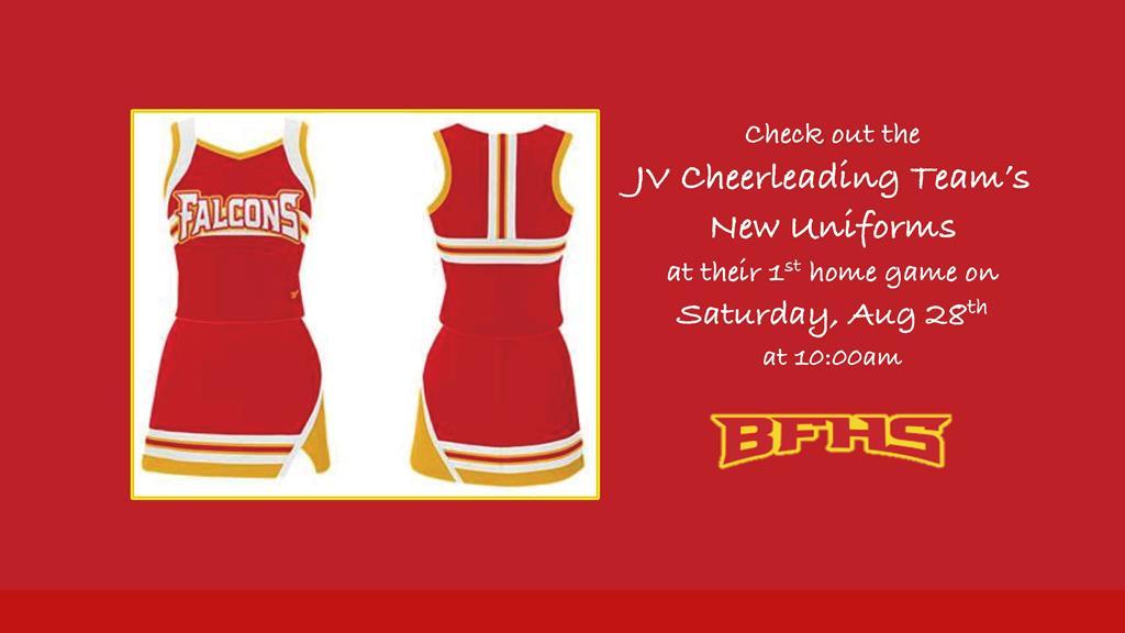 JV new uniforms 2021