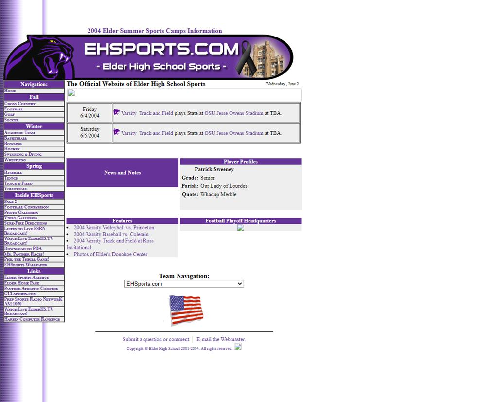 EHSports.com v2