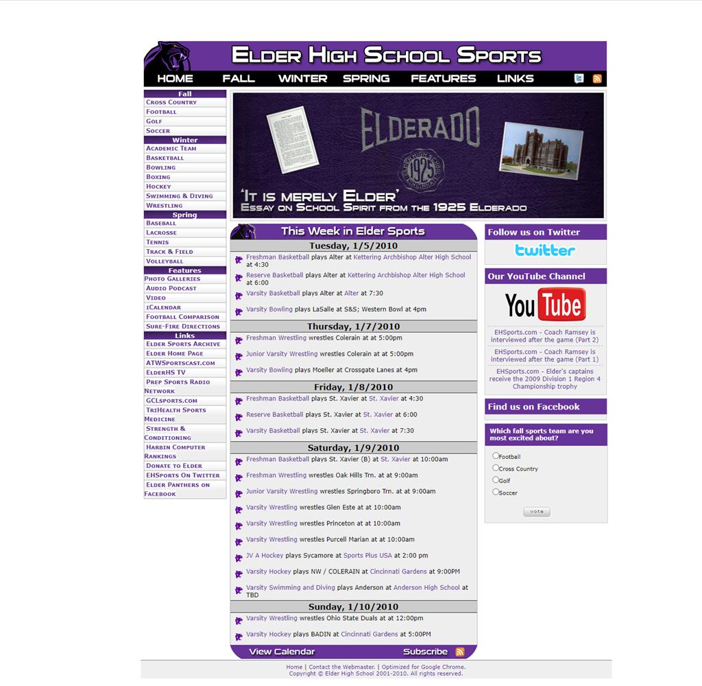 EHSports.com v3