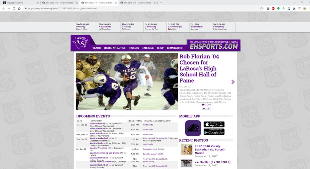 EHsports.com v4