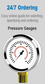 PressureWorx 24/7 Ordering Gauges