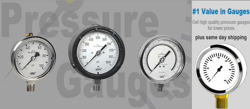 Stainless Pressure Gauges