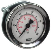 "WIKA Commercial Panel Mount Gauge 2"", 100 PSI, 1/4"" NPT"