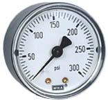 "Commercial Pressure Gauge 0-300 PSI, 1/4"" NPT"