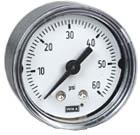 "WIKA Commercial Pressure Gauge 1.5"", 60 PSI"