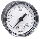 "WIKA Commercial Pressure Gauge 1.5"", 200 PSI"