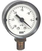 "WIKA Commercial Vacuum Gauge 1.5"", 30"" Hg"