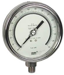 "WIKA Precision Test Gauge 4"", 300 PSI"