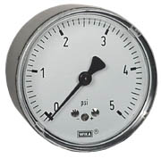 WIKA Low Pressure Gauge 0-5 PSI