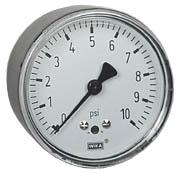WIKA Low Pressure Gauge 0-10 PSI