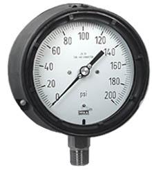 "Process Pressure Gauge 4.5"", 200 PSI"