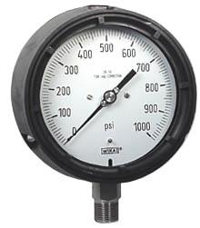 "WIKA Process Pressure Gauge 4.5"", 1000 PSI"