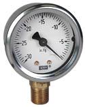 "WIKA Industrial Vacuum Gauge 2"", 30"" Hg, Liquid Filled"