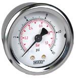 "WIKA Industrial Pressure Gauge 2"", 15 PSI/Bar"