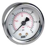 "WIKA Industrial Pressure Gauge 2"", 30 PSI/Bar"