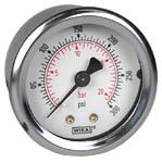 "WIKA Industrial Pressure Gauge 2"", 300 PSI/Bar"