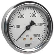 "WIKA Industrial Pressure Gauge 2.5"", 5000 PSI"