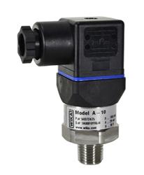 WIKA General Industrial Pressure Transducer 50 PSI, 4-20mA