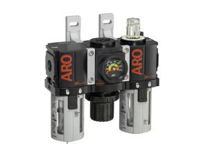 "Miniature Filter-Regulator-Lubricator 1/4"" 0-140PSI"