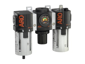 "ARO Filter-Regulator-Lubricator-Gauge 3/4"" 0-140PSI"
