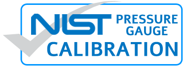 NIST Traceable Calibration Certificate- Digital Pressure Gauges