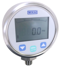 WIKA DG-10-S Digital Pressure Gauge 3,000 PSI