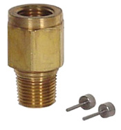 "Ray Piston Snubber 1/4"" NPT Brass"