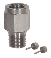 "Ray Piston Snubber 1/4"" NPT Stainless"