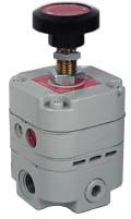 "Bellofram Precision Air Regulator 1/4"", 2-25 PSI"