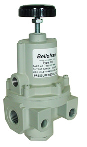 "Bellofram High Flow Precision Air Regulator 1/2"", 0-125 PSI"