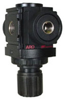 "ARO Miniature Air Regulator 1/8"", 0-140PSI"