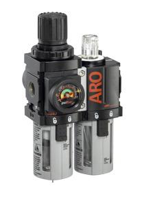 Miniature Filter/Regulator-Lubricator 1/4