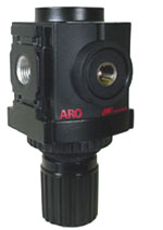 "ARO Compact Air Regulator 1/4"", 0-30PSI"