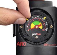 ARO Flush Mount Pressure Gauge for 2000/3000 Series