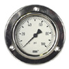 Stainless Steel Pressure Gauges 2.5 Front Flange Panel Mount