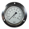 Stainless Steel Pressure Gauges 4 Front Flange Panel Mount