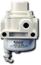 "Bellofram Fixed Air Filter/Regulator 1/4"", Preset at 30 PSI"