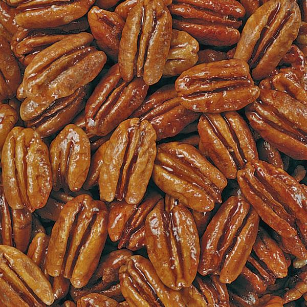 Honey Glazed Pecan Halves