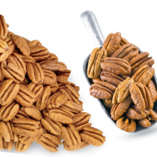Fancy Mammoth Pecan Halves  - 12 oz. BAG
