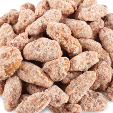 Cinnamon Spiced Pecan Halves - 1 lb. BAG