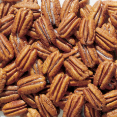 Roasted and Salted Pecan Halves - 1 lb. BAG