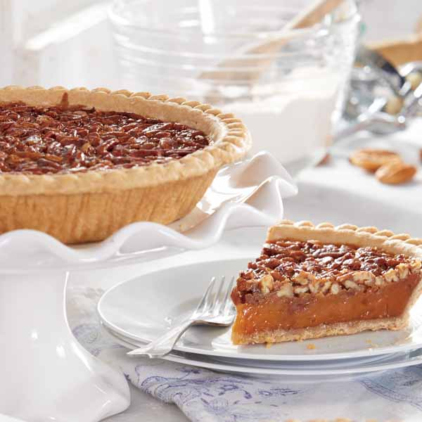 "9"" Old-Fashioned Pecan Pie"