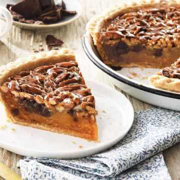 "9"" Chocolate Pecan Pie"
