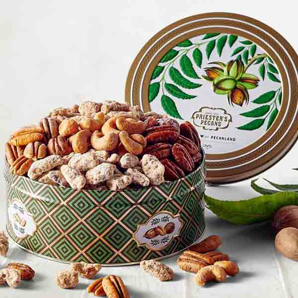 Sweet & Savory Snacks Gift Tin, 1 lb. 3 oz.