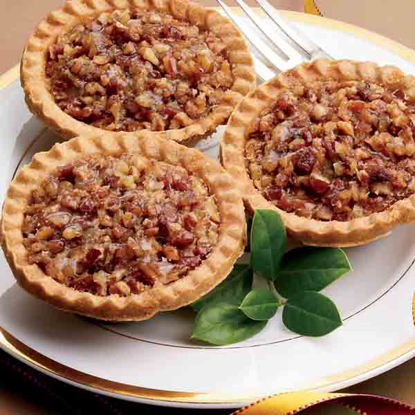 "No Sugar Added 3"" Mini Old-Fashioned Pecan Pies"