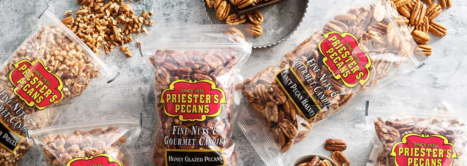 One pound Bags of Pecans