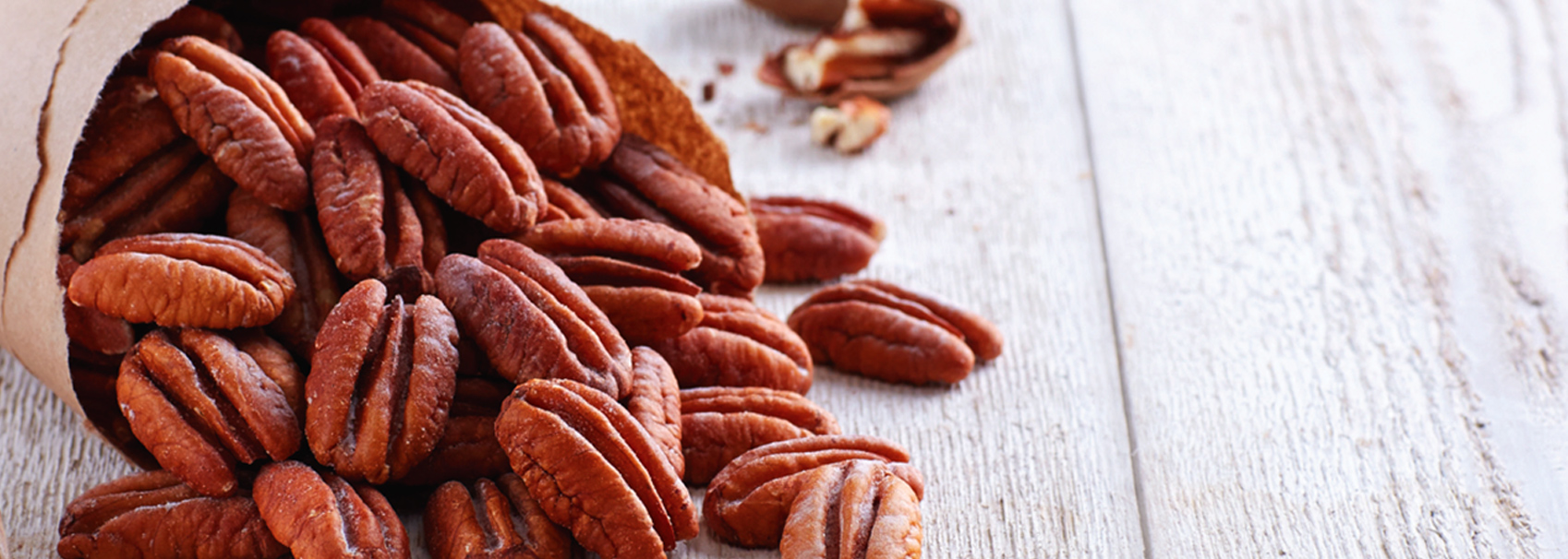 Wide selection of raw natural pecans!