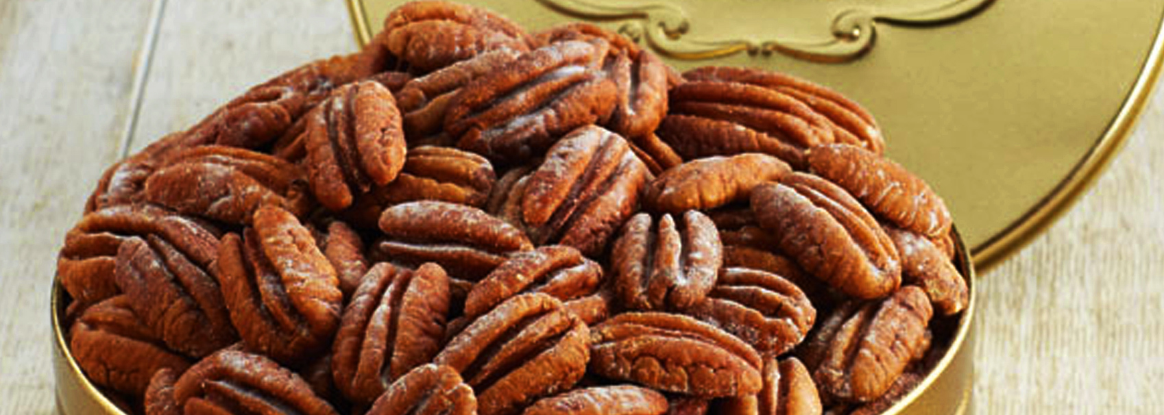 Roasted to perfection and lightly salted – the best pecans in the South!